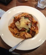 The lamb pappardelle at the Mount Henry Tavern.
