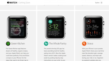 "The Whole Pantry app was included on the ""coming soon"" Apple Watch list but has since been pulled."