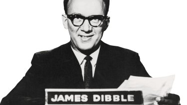 Gone are the days of only a few media outlets controlling the news agenda. Presenter James Dibble on ABC TV.