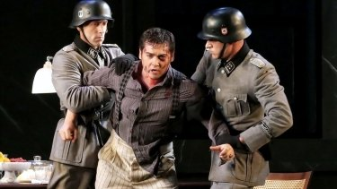 Teodor Ilincai as Cavaradossi in Opera Australia's production of <i>Tosca</i>.