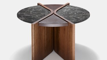 Fossil coffee table, designed by Liz Doube.