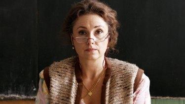 Zuzana Maurery gives a bravura performance in The Teacher.