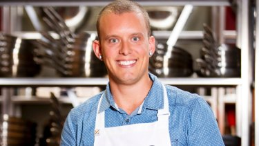 MasterChef runner-up Matt Sinclair.