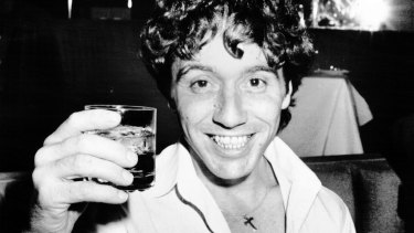 Stevie Wright of the Easybeats...1986.