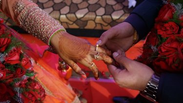 The series will present a modern version of arranged marriage.
