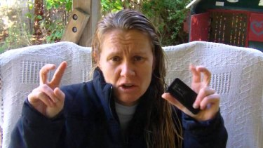 Behind bars: Teresa van Lieshout failed to comply with court orders.
