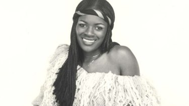 She's got the music in her: Marcia Hines early in her career.