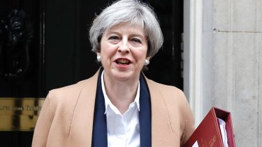 A senior member of British Prime Minister Theresa May's own party says she would go to war with Spain over Gibraltar.