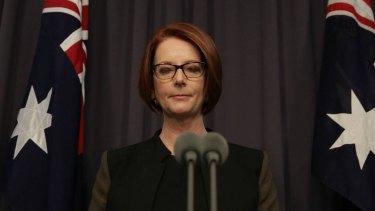 Voters drifted from Julia Gillard when they felt she wasn't being true to her beliefs.