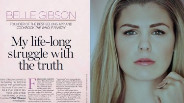 Belle Gibson's interview in The Women's Weekly sparked an online backlash.