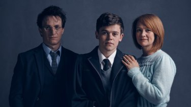 The original London cast of Harry Potter and the Cursed Child.