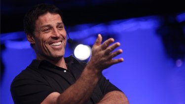 Anthony Robbins is the 'life and business strategist' trusted by politicians, CEOs and movie stars.