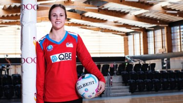 Revamp: Paige Hadley is the only Diamond left at the Swifts.