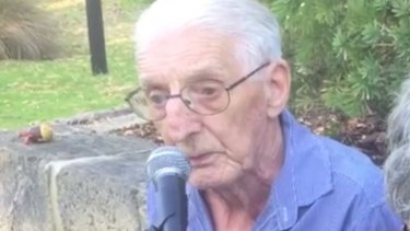 90-year-old Danny Doran's performance of 'Liverpool Lou' has gone viral.