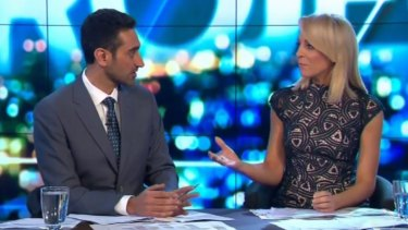 Waleed Aly and Carrie Bickmore are both in contention to win the Gold Logie for TV's most popular personality.