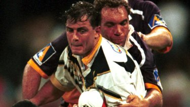 Spoken out: Former North Queensland Shaun Valentine suffers dizzy spells and memory loss after a series of head knocks in 2000.