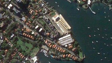 The HMAS Platypus site in North Sydney.