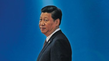 Driving force: Chinese President Xi Jinping has unnerved  his neighbours.