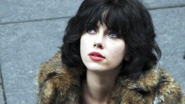 Scarlett Johansson in a scene from Under the Skin.