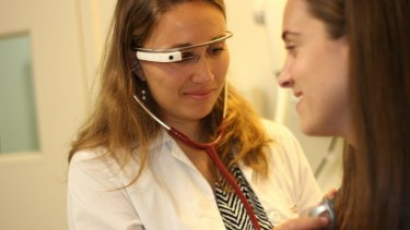 Health startup Augmedix is using Google Glass headsets to give doctors better access to patient information.