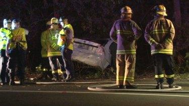 Sarah Durazza died when her car hit a tree.
