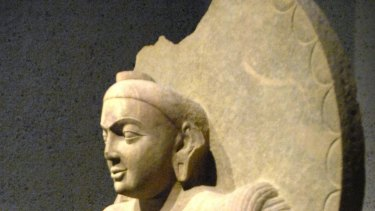 The second-century Buddha, which was given to the Australian National Gallery in 2007.