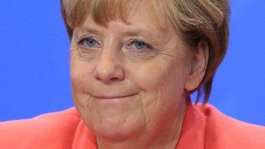"German Chancellor Angela Merkel is ""insane"", according to US Republican presidential candidate Donald Trump."