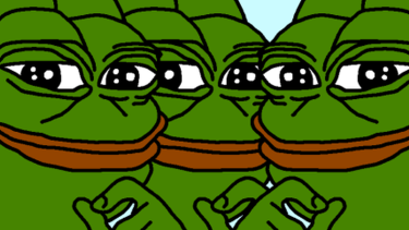Alt-right meme Pepe the Frog.