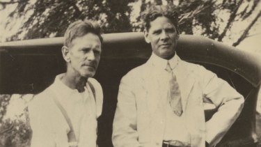 Jim Grahame (aka Jim Gordon) and Walter Jago circa 1930-35.