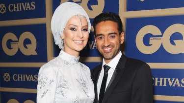 Susan Carland and her husband Waleed Aly whom she met when they were both teenagers.