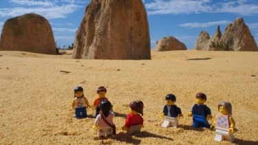 The Lego Travellers check out the sights of Western Australia.