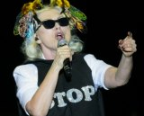 Debbie Harry performing at A Day on the Green.