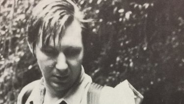 Christopher Howell pictured in the 1977 Trinity school magazine.