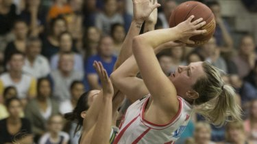 Sara Blicavs is among the fresh faces to be named in the Australian Opals squad to tour Europe later this month.