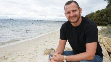 Former gay man James Parker.