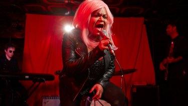 Loud and proud: Ursula Yovich as band leader Barbara.