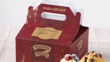 Muffin Break had one of the lowest average health star rating scores - 2.2 stars.