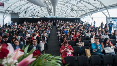 Australia's first conference connecting businesses with Daigou was held in Sydney and Melbourne in April.