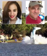 Endah Cakrawati, 30, and pilot Peter Lynch died after the plane crashed into the Swan River.