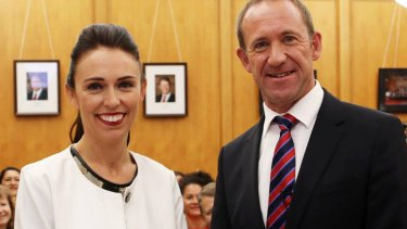 Jacinda Ardern, 37, is Labour's youngest leader.