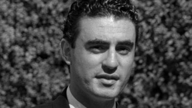 "Pino ""Joseph"" Acquaro, outside court during the 1995 inquest into the death of Alfonso Muratore."
