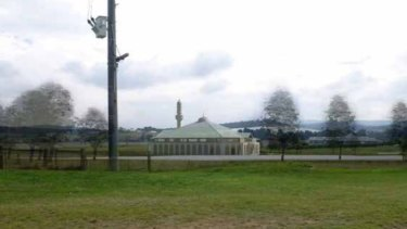 An image of the planned mosque in Narre Warren.
