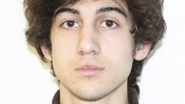 Dzhokhar Tsarnaev, 19, convicted of killing three people and injuring 264 others in the 2013 Boston Marathon bombing and of fatally shooting a police officer four days later.
