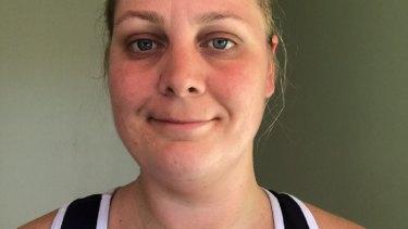 Brisbane netballer Rachael Brown.