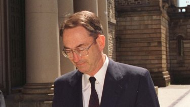 Tim Marcus Clark, shown here in 1996, died in December, 2015, after a long illness, aged 83.