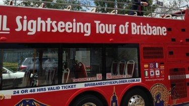 The Brisbane Explorer bus stopped operating in April 2017.