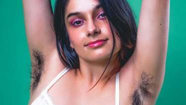 Paula Abul, ambassador for Get Hairy February stopped shaving her body hair when she was 14 years old
