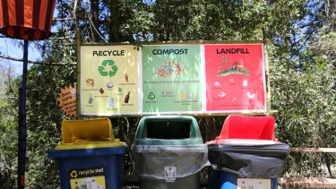 Woodford Folk Festival keeps its compost material on-site.