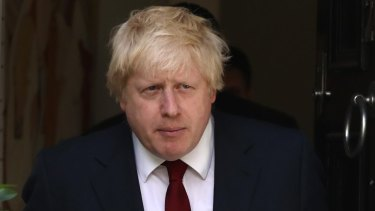Conservative MP Boris Johnson  led the Leave campaign.