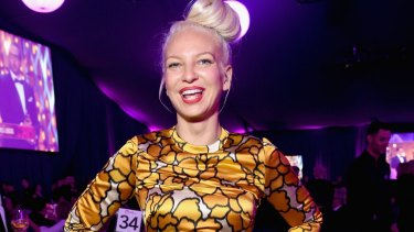 Singer/songwriter Sia attends the 23rd Annual Elton John AIDS Foundation Academy Awards Viewing Party.